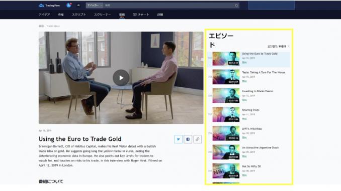 TradingView動画投稿方法